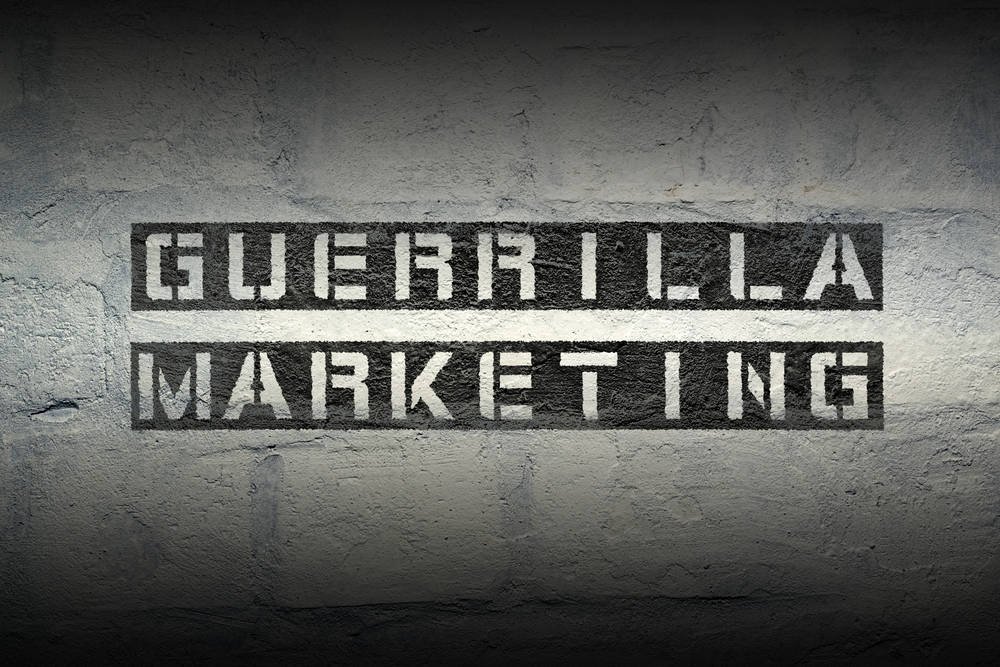 Publicidad de Guerrilla
